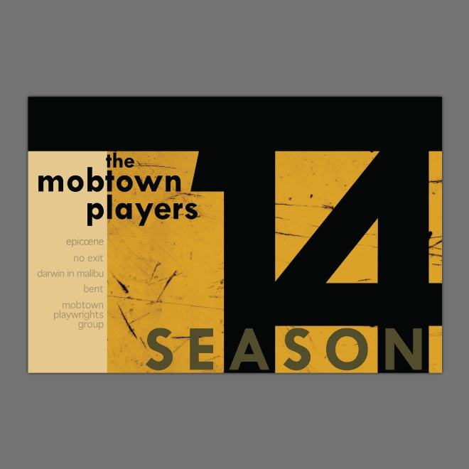Mobtown Postcard